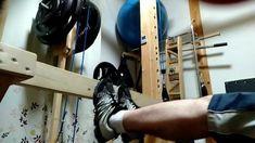 Diy Home Gym, Gym Room At Home, Basement Gym, Home Gym Design, Woodworking Inspiration, Calf Raises, Press Machine, Leg Press, My Gym