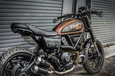 View some of my preferred builds - customized scrambler hybrids like this Ducati Scrambler Urban Enduro, Scrambler Icon, Moto Ducati, Ducati Motorcycles, Scooters, Triumph Cafe Racer, Motorcycle Camping, Ducati Monster, Bike Life