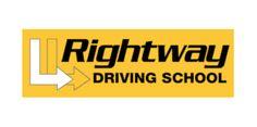Rightway Driving School logo created by RIS Designs. www.risdesigns.com.au Logo Branding, Brand Identity, Logos, Graphic Design Studios, Logo Design, Driving School, School Logo, Digital Media, Academia