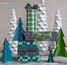 DIY Urban Holiday Printable Gift Wrap for your Holiday Stocking Stuffers and Pint Sized Christmas Gifts