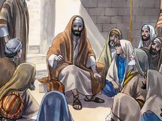 Free visuals of Jesus being rejected in Nazareth Luke 4:14-30