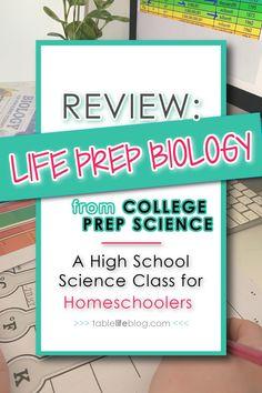 High School Transcript, High School Curriculum, Homeschool Curriculum Reviews, Homeschool Books, Homeschooling, High School Chemistry, High School Biology, High School Science, Biology Lessons