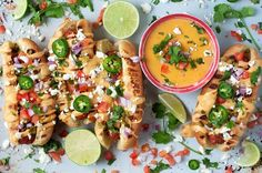 Queso Cheese Hot Dogs #recipe via Little Kitchen. Big World. http://www.yummly.com/recipe/Queso-Cheese-Hot-Dogs-1721611