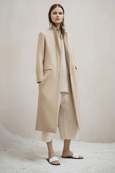 The Row Pre-Fall 2015 -- stunning neutral look #style #fashion #minimal