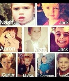 Magcon boys awe<<< I always knew Nash was a chubby baby but zaayyyuuuummm. I could tell that was him though