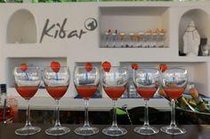 """Cocktail fragola fresca e spumante(aperitivo terrazze """"kibar"""", Hotel Chiaia di Luna Isola di Ponza)"""