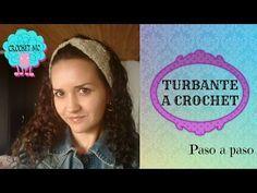 Turbante a crochet en todas las tallas - punto Jazmin - YouTube