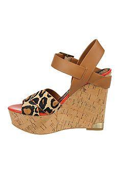 Sam Edelman Sasha Wedge Sandal #belk #shoes
