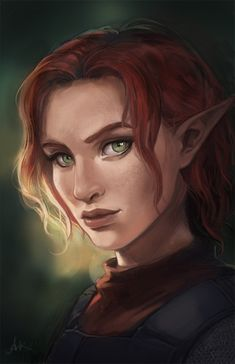 Elf Characters, Dungeons And Dragons Characters, Fantasy Characters, Fantasy Rpg, Medieval Fantasy, Fantasy Girl, Elves Fantasy, Elfa, Fantasy Portraits