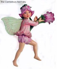 Cicely Mary Barker Canterbury Bells Fairy Figurine | eBay