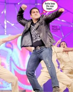 Is it just us or is it immensely ironic that Salman Khan isa regular fixture at Umang – The Police Show, despite the fact that he has avoided 83 (yes,eighty-three) court appearances? *lol* He's got charges against him, but somehow Sallu manages to keep getting away and instead he dances among the police at their [...]