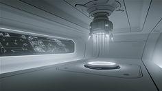 Interiors Sci-Fi no Behance