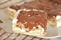tiramisu-pavesini-e-nutella Biscotti, Italian Recipes, Food And Drink, Pudding, Pie, Sweets, Cooking, Ethnic Recipes, Desserts