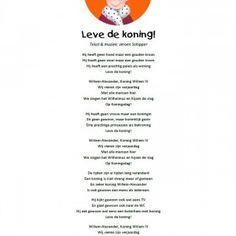 20140052-Koningsdaglied-1 21 Juni, Holland, Scrapbook, School, Sayings, Quotes, Kids, 5 Mei, Authors