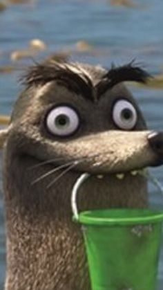 Gerald the sea lion from Finding Dory