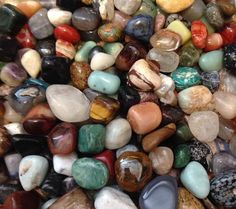Tumbled Stones - One Pound. Starting at $6 on Tophatter.com!