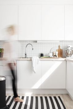 Nina Holst's (Stylizimo) #kitchen #white