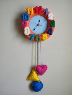 Felt Clock