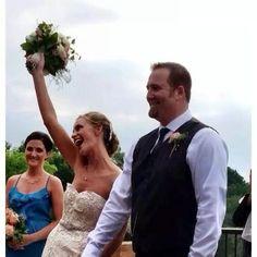 Damon & Angela Tinsley's Chandler Hill winery wedding.