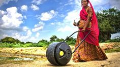 Social venture Wello has carried out extensive research in improving water transport in developing nations and has developed what it believes could be a part of a solution, a prototype for a pushable plastic container dubbed the WaterWheel.