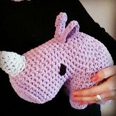 Dex, the cuddly little rhino  #dex #rhino #neushoorn #ribbonxl #crochet #lovetocrochet #crochetlove #gehaakt #amigurumi #crochetpattern #haakpatroon #patroon #pattern #hoooked #cuddly #knuffel #cute #cuteness #schattig #cutie