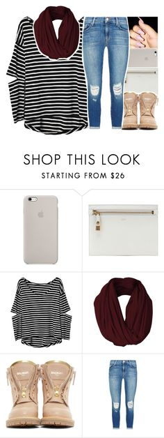 """""""Untitled #1083"""" by abigail-petion ❤ liked on Polyvore featuring Tom Ford, Balmain and J Brand"""