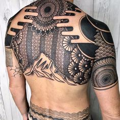 tattoos for men aries Best Sleeve Tattoos, Back Tattoos, Sexy Tattoos, Body Art Tattoos, Tribal Tattoos, Tattoos For Guys, Cool Tattoos, Tatoos, Geometric Sleeve Tattoo