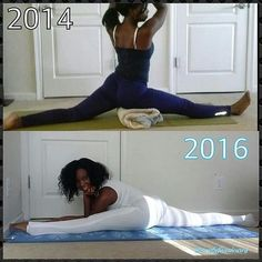 Yay!! Welcome to Day 2 of #LookatMeNow2015  Tomorrow's challenge pose is #hanumanasana or #monkeypose. Any variation will do. Back then some days I could get into the posture but only for 1 second. Other days i could not get down. Now I can stay here for