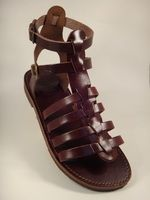 Gladiator Brown Two Straps