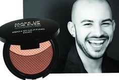 """Damian Castellanos, make-up artist da Make Up Forever: """"O produto que eu compraria seria o Pro Sculpting Duo, da MAKE UP FOR EVER. Com ele, você pode criar luz, sombra, contorno, usar como sombra mesmo, colocar nos lábios, dar profundidade, iluminação.É um produto multiuso incrível!"""""""