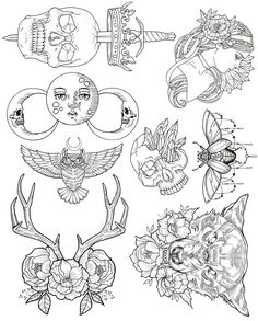 Wendy Ortiz Tattoo Flash - First Edition