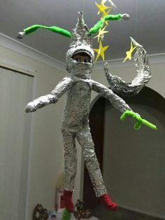 Make your Elf an astronaut! Could be fun paired with a Buzz Lightyear