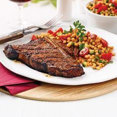 Bifteck d'aloyau et marinade sèche à la marocaine - Recettes - Cuisine et…