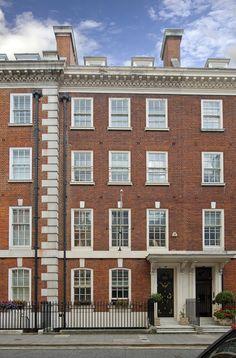 The Icelandic Ambassador's Residence on Park Street, Mayfair. Sold for £14.95m