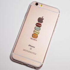 Macaron iPhone 6 / 6S Clear Soft Case More