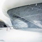 Taichung City Cultural Center Entry | Tighe Architecture