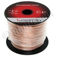 500ft 14AWG 2 Wire Enhanced Loud Oxygen-Free Speaker Wire Cable by C $179.99. 500ft 14AWG 2 Wire Enhanced Loud Oxygen-Free Speaker Wire Cable.  Speaker wires are used to make electrical connections for audio devices such as loudspeaker systems and audio amplifiers. Often times, a speaker wire will consist of two or more electrical conductors that are individually insulated. There are several types of speaker wire in the market today; however what matters mos...