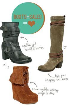 I love those green boots