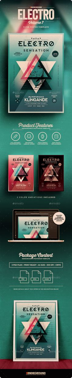 Electro Flyer/Poster Vol. 7 - Events Flyers