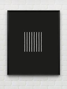 Printable minimalist print geometric wall art by Designsbyritz