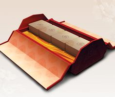 The challenge was to design a Mooncake box that can fit either 4 standard size Mooncakes or 8 snow skin Mooncakes. When the Mooncake festival is over, it can be reused as a storage box.