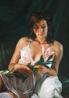 Figurative Painting by Laszlo Gulyas