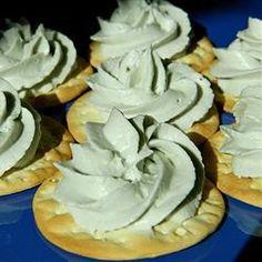 Patê de queijo gorgonzola e cream cheese @ http://allrecipes.com.br