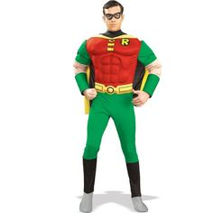Deluxe Muscle Chest Robin Costume  Medium  Chest Size 4042 * Check out this great product.