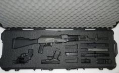 Dulles Case Center located in Dulles Virginia. We provide custom cases and foam inserts for all of your protection needs! Ammo Storage, Mini 14, Baby Shots, Gun Cases, Hunting Guns, Custom Guns, Tactical Gear, Firearms, Hand Guns