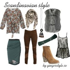 Scandinavian simplicity, created by gingerstyle on Polyvore