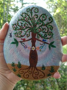 NEW Gaia/Mother Earth Goddess Altar Stone by TheSimplifiedWitch, $20.00