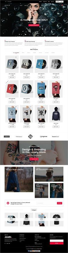 Javelin is a wonderful responsive #WordPress theme for online #eCommerce #store, business, corporate, portfolio or any kind of websites with 7 unique homepage layouts download now➩ https://themeforest.net/item/javelin-woocommerce-wordpress-theme/17576221?ref=Datasata