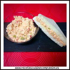 Relleno de atún para sandwiches o canapés