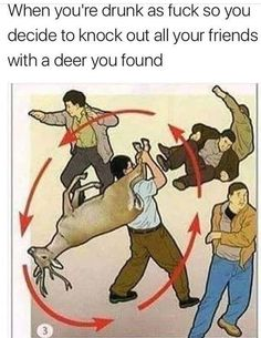 How To Use A Deer #funny #meme